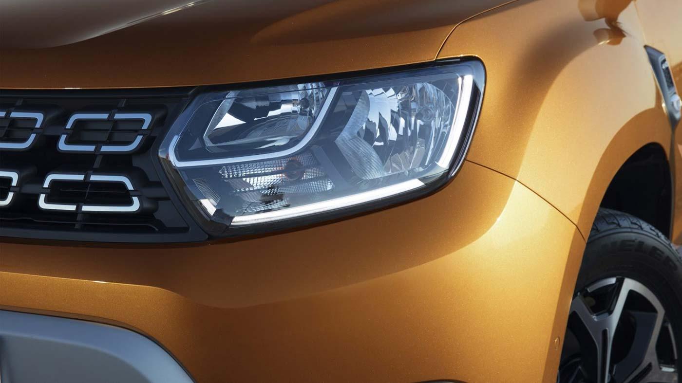 LED Scheinwerfer beim neuen Dacia Duster 2018