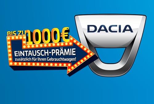 Dacia Eintauschprämie bei P&A-PRECKEL