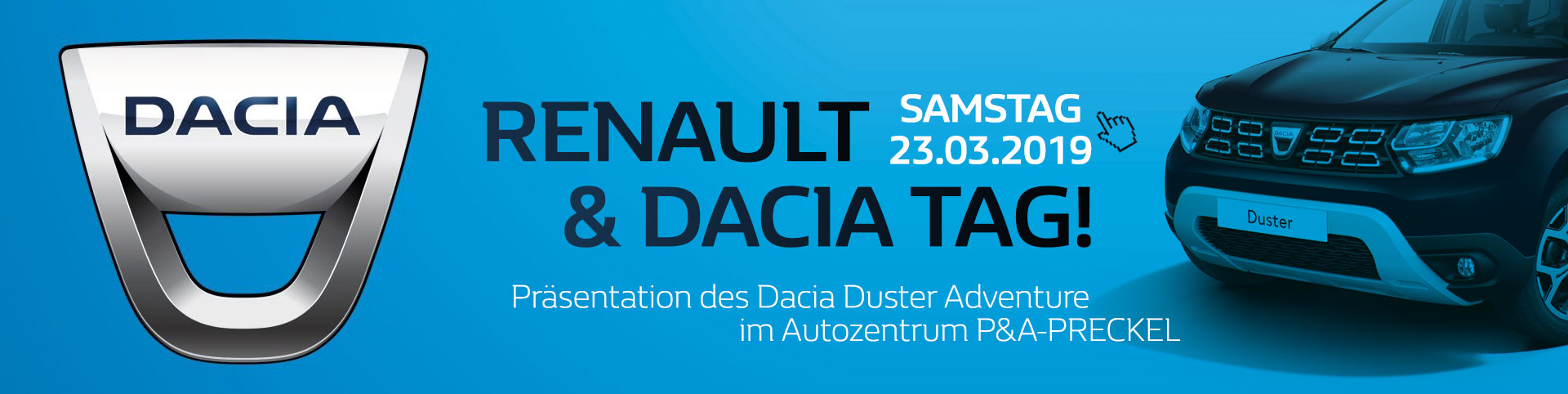 Dacia Duster Adventure Präsentation im Autozentrum P&A-PRECKEL