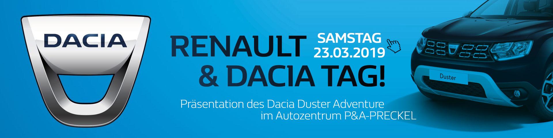 Dacia Duster Adventure Präsentation im Autozentrum P&A-PRECKEL