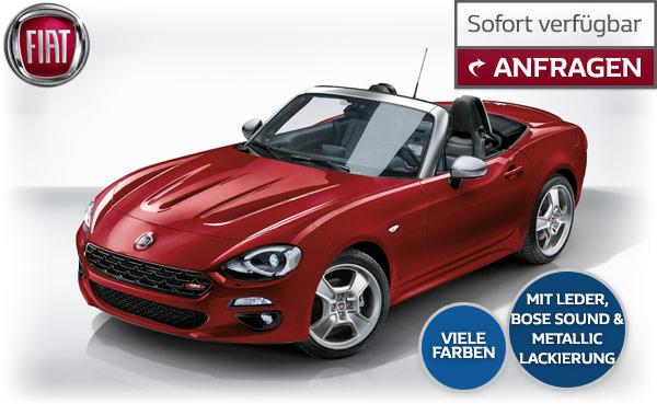 Angebot Fiat 124 Spider im Autozentrum P&A-Preckel