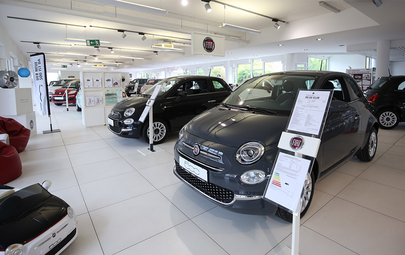 FIAT Preckel Showroom