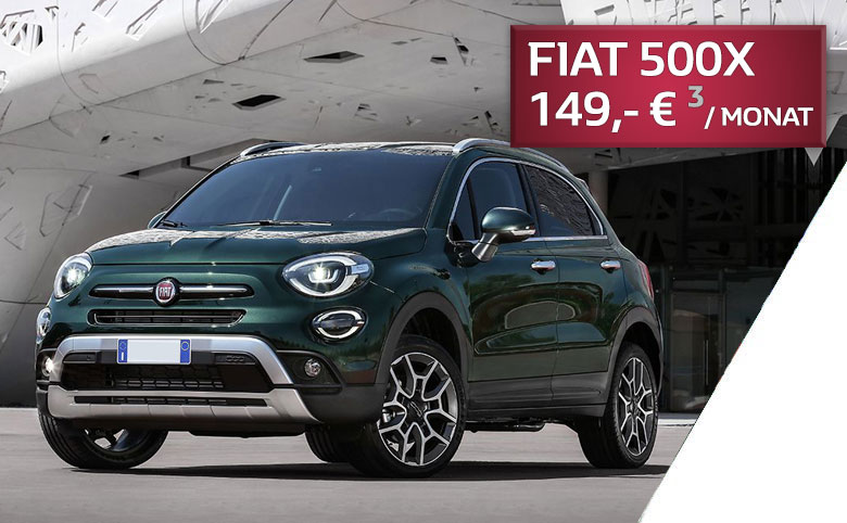 FIAT 500X Finanzierung 149 Euro pro Monat bei P&A-PRECKEL