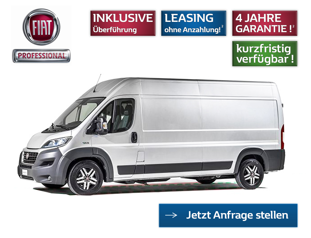 Fiat Ducato Maxi Leasing Angebot L4H2