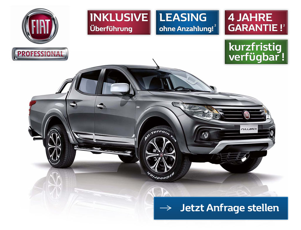 Fiat Fullback Pick Up Angebot