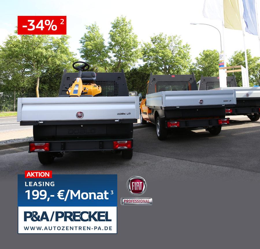 Fiat Doblo Cargo WorkUp Leasing 199 Euro
