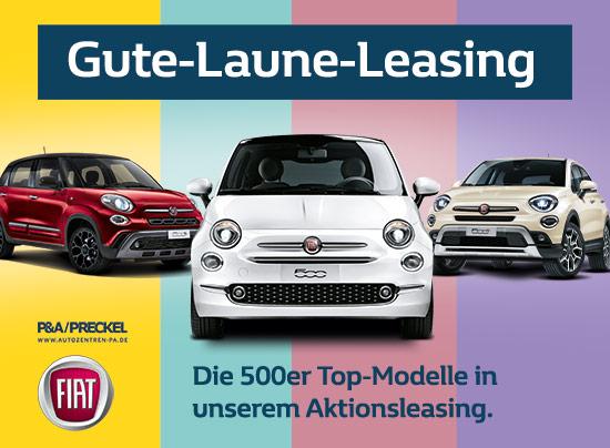 Fiat 500 Gute-Laune-Leasing