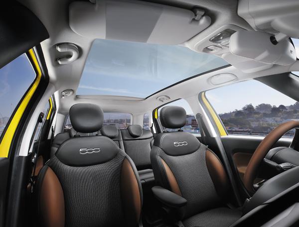 Fiat 500L Innenraum
