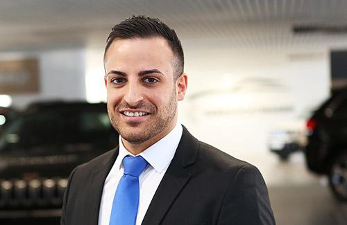 Fiat Verkaufsberater Luca Spataro