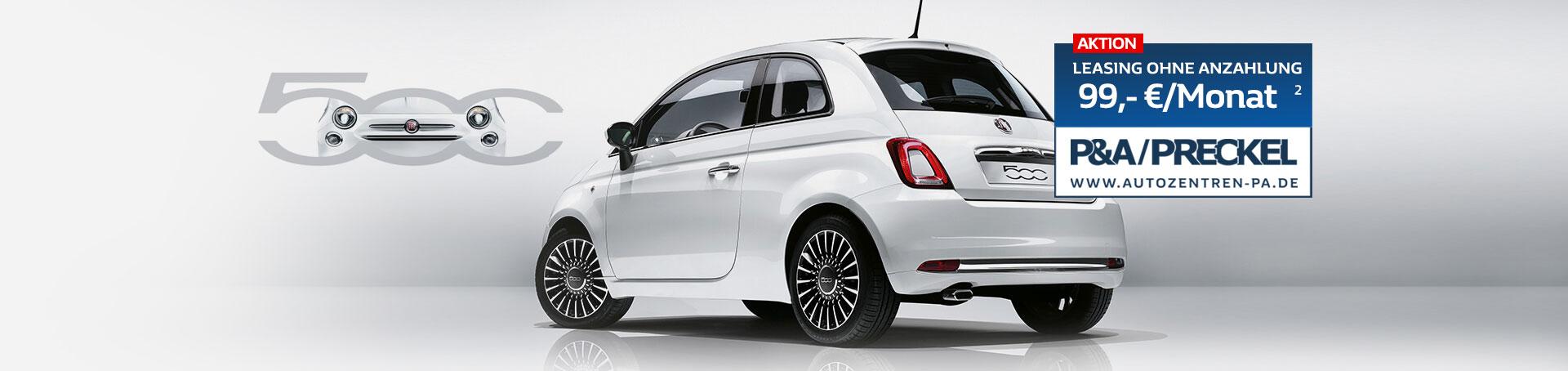 Fiat 500 Leasing 99 Euro pro Monat