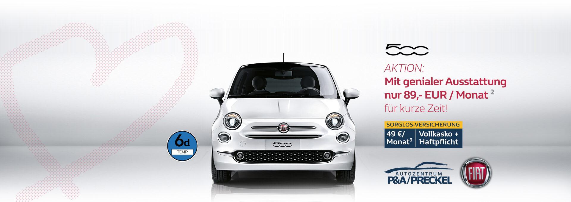 Fiat 500 Lounge Angebot 2019
