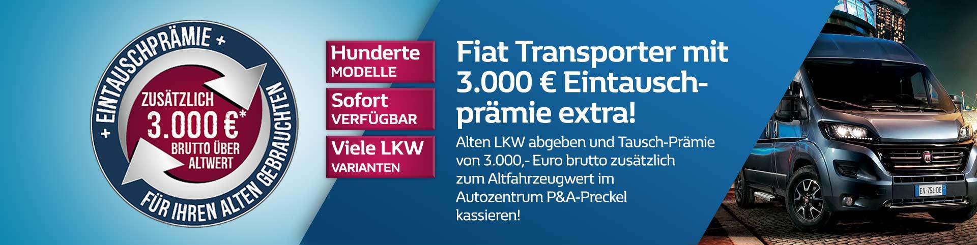 Fiat Transporter Eintauschprämie