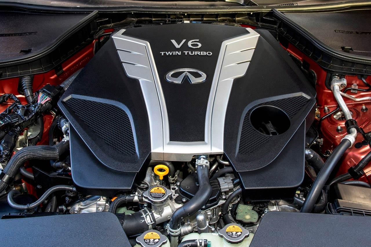 Motor Q60S von Infiniti Düsseldorf