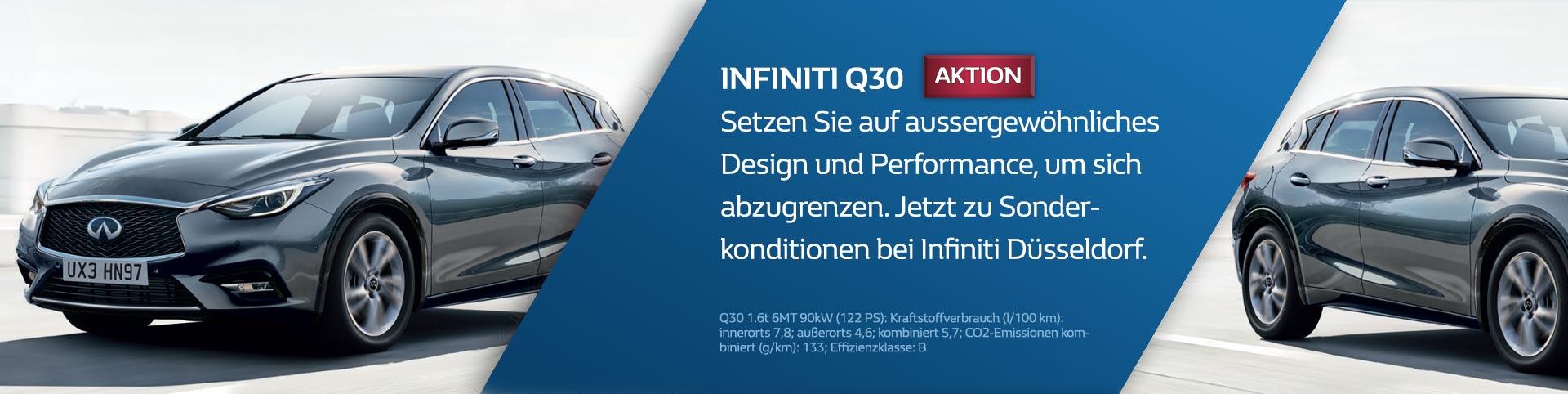 Infiniti Q30 Sonderangebot in Düsseldorf