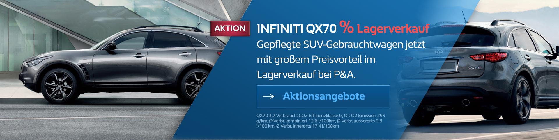 Infiniti QX70 Gebrauchtwagen