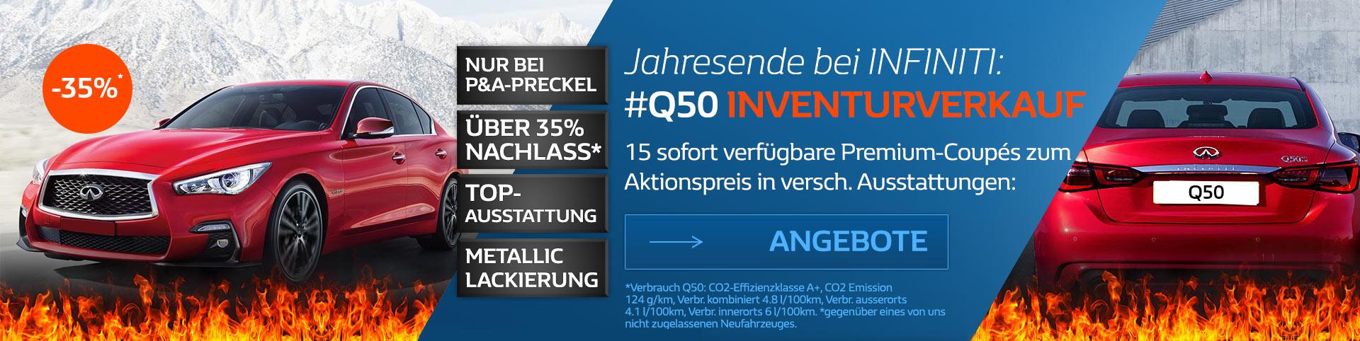 Infiniti Q50 Sonderangebot