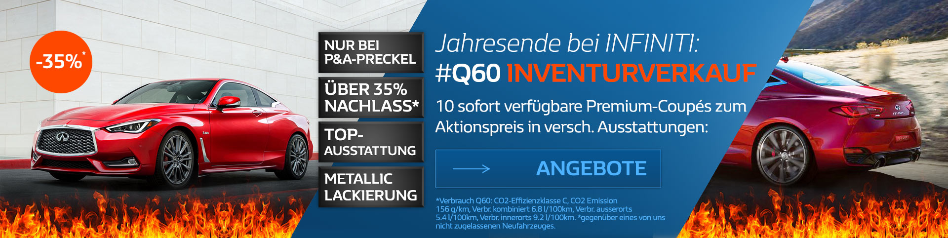 Infiniti Q60 Inventurverkauf