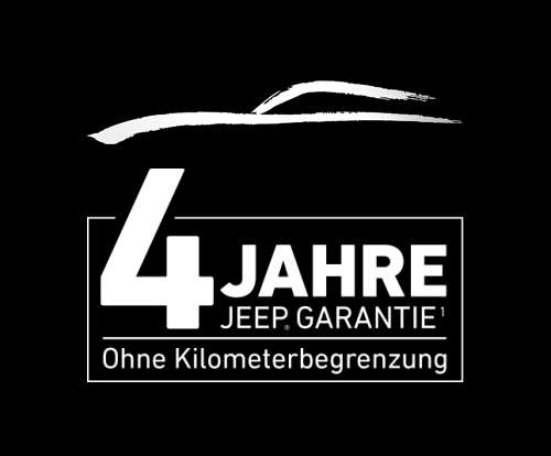 Garantie für Neuwagen bei Jeep