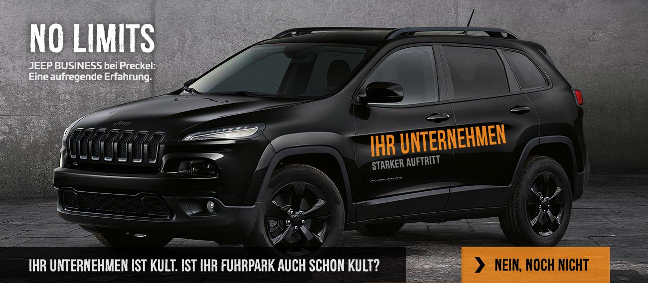 Jeep Fuhrpark anfragen