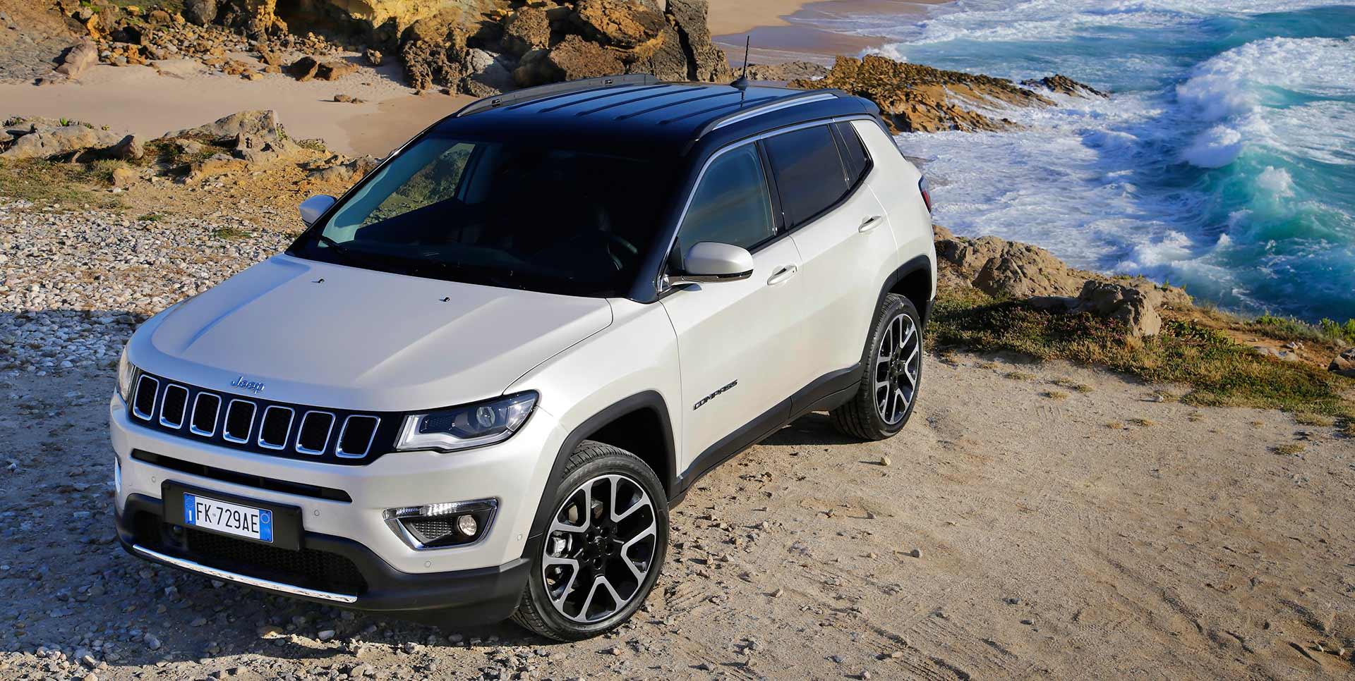 Abenteuer wo man hinsieht: Der neue Jeep Compass