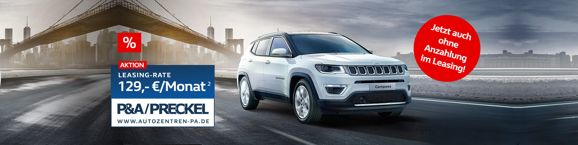Jeep Compass Leasing