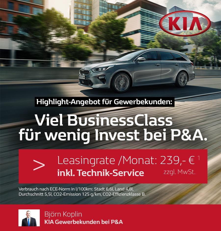 Leasing KIA Ceed Sportswagon Angebot