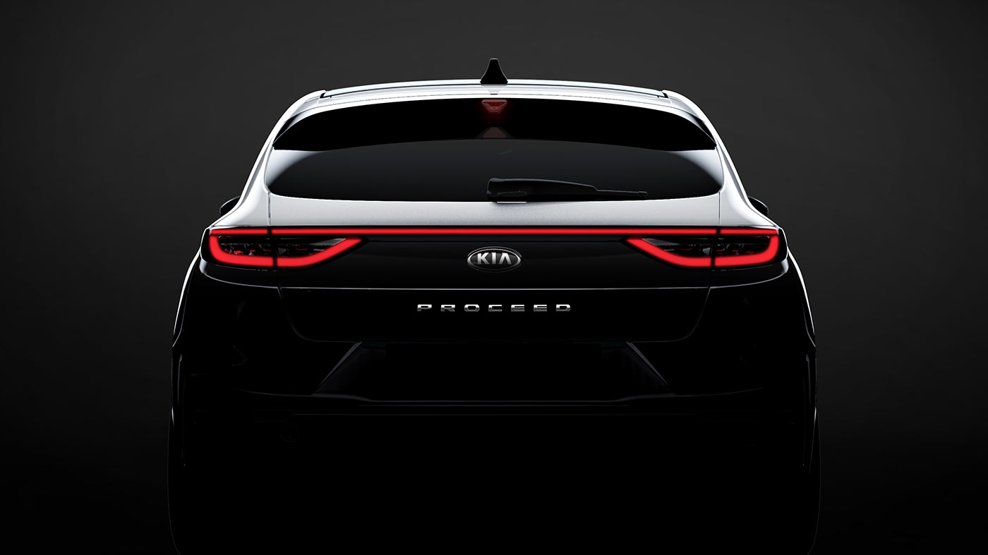 KIA ProCeed Shooting Brake 2018