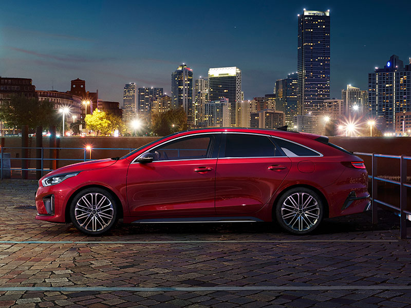 KIA ProCeed Shooting Brake Seitenansicht
