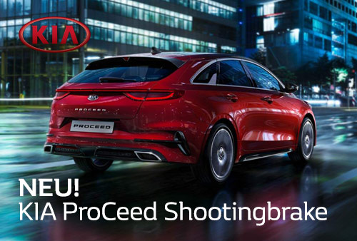 KIA ProCeed Shootingbrake im Autozentrum P&A