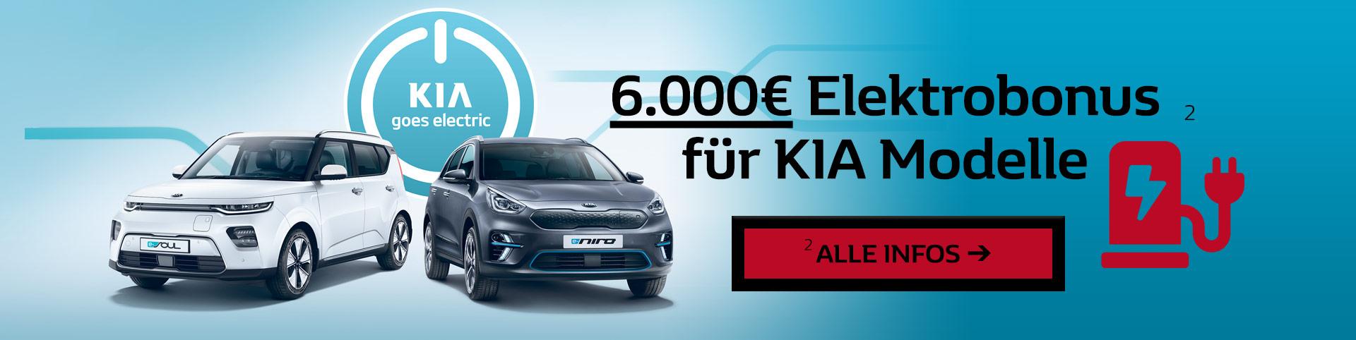 Kia Elektrobonus 6000 Euro