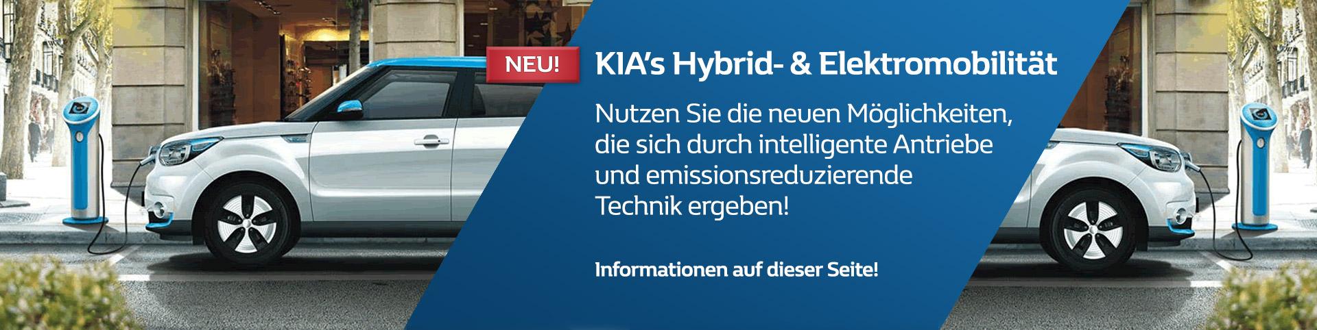 KIA Elektro- und Hybridmobilität von P&A