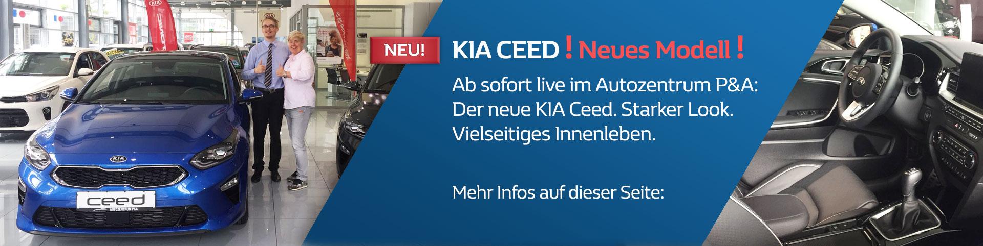 Der neue KIA Ceed im Autozentrum P&A