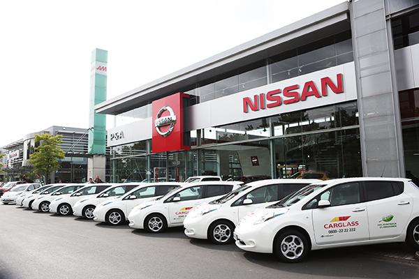 Elektroautos für Carglass Deutschland