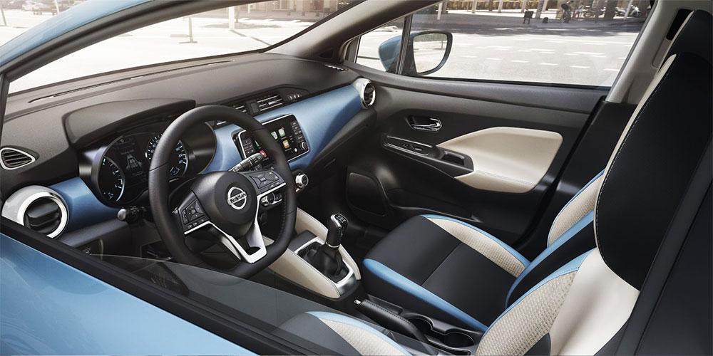Nissan Micra Innenraum