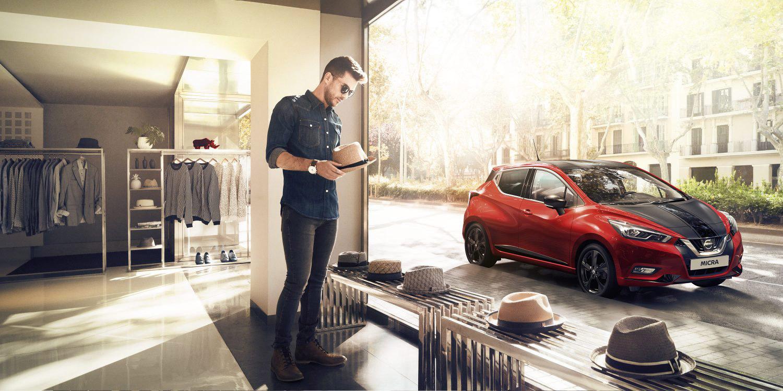 Der Nissan Micra in neuem Style
