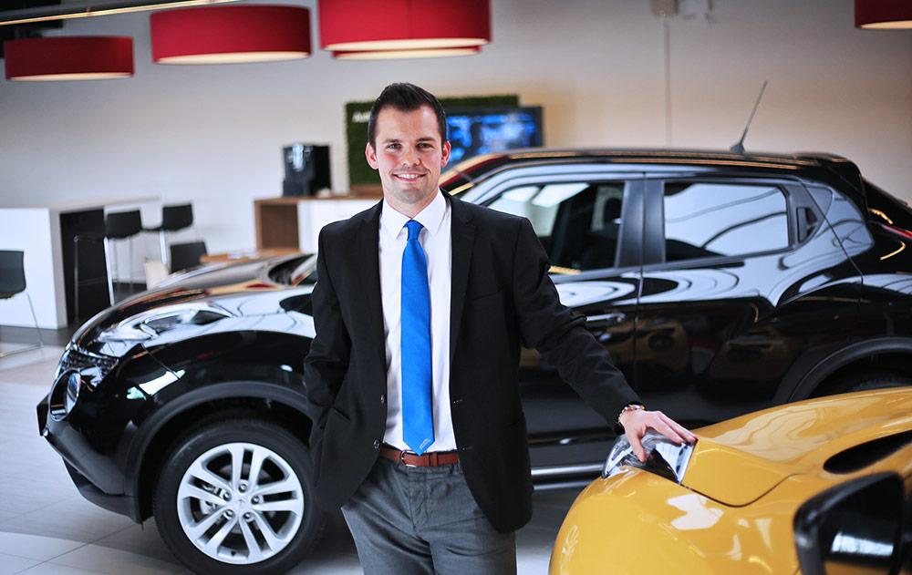 Mike Klewen vom Autozentrum P&A-PRECKEL