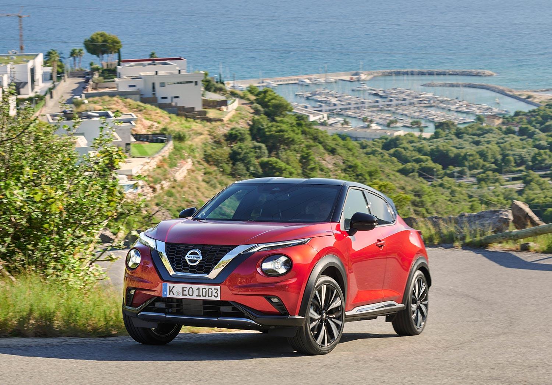 Der neue Nissan Juke: Frontansicht