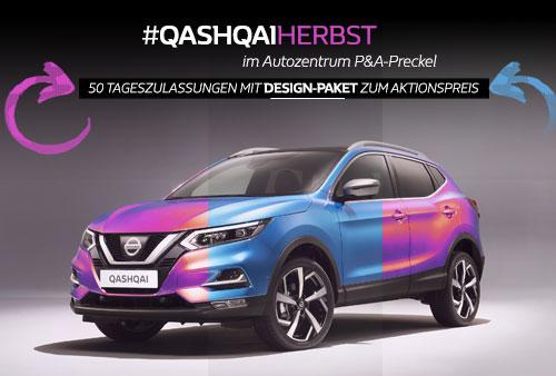 Nissan Qashqai Tageszulassungen im Herbst-Angebot