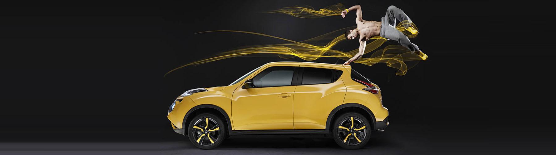 Unser stylischer Nissan Juke