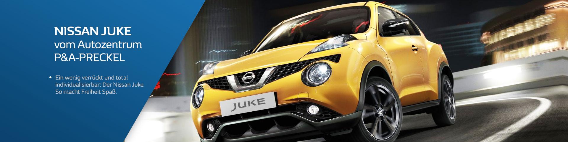Nissan Juke vom Autozentrum P&A-Preckel
