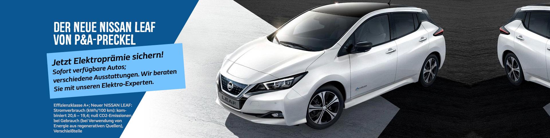 Nissan Leaf 2018 Elektroauto von P&A-Preckel