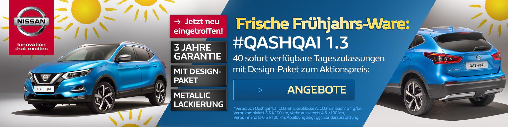Nissan Qashqai Winterschlussverkauf