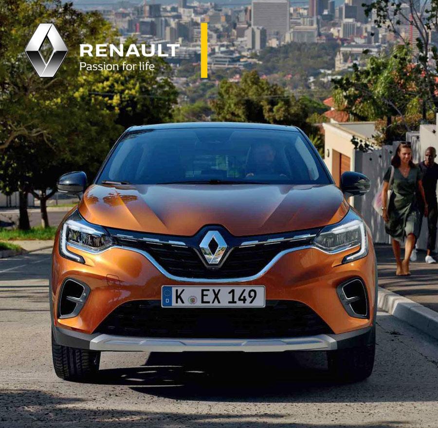 Der neue Renault Captur Mini-SUV
