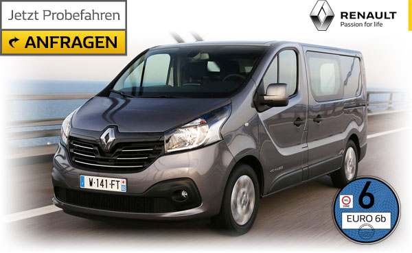 Renault Trafic mit Wechselprämie Diesel