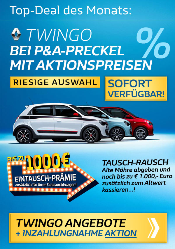 Renault Twingo Angebot im Januar