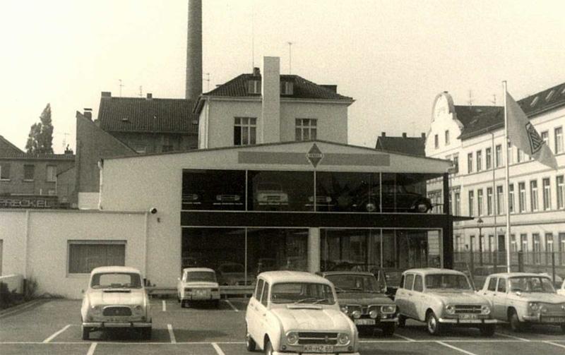 Seit 1950 Renault Händler