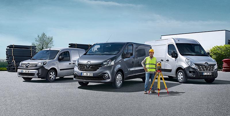Renault Transporter am Renault-Tag 2018