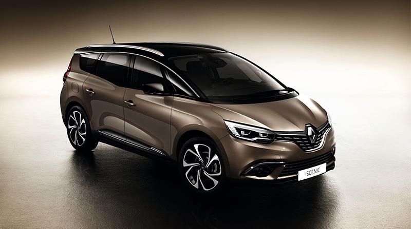 Der neue Grand Scénic von Renault