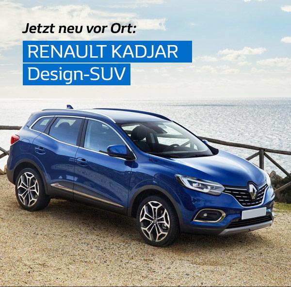 Der neue Renault Kadjar am Renault Tag 2019