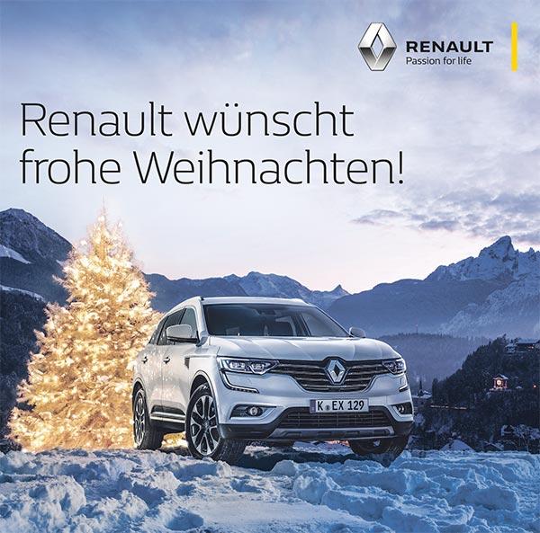 Renault Koleos Weihnachten 2017